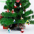 2019 Christmas Pendant Set Christmas Tree Ornament Christmas Cartoon Doll Pendant Christmas ornament ,12pcs/set