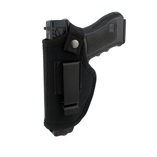 Gun Clip Holster Ultimate Concealed Carry IWB OWB Holster for Right Hand or Left Hand Draw fits Subcompact to Large Handguns  2
