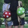 Women backpack cute Kids 3D Cartoon Mushroom Children's Backpacks Bag Girl School small backpacks for teenage girls Travel Bag
