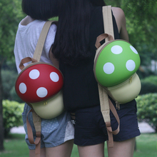 Women backpack cute Kids 3D Cartoon Mushroom Children s Backpacks Bag Girl School small backpacks for