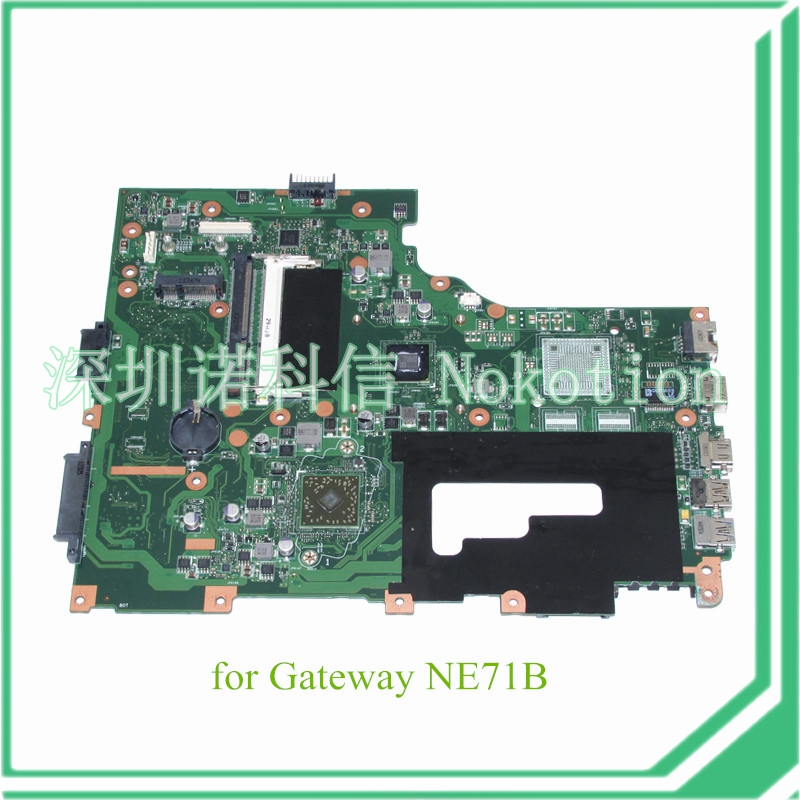 NOKOTION EG70BZ REV 2.1 NBC1U11003 NB.C1U11.003 For gateway NE71B laptop motherboard E450 CPU DDR3 eg70 eg70bz rev 2 0 for gateway ne71b ne71b06u laptop motherboard e2 1800 cpu ddr3