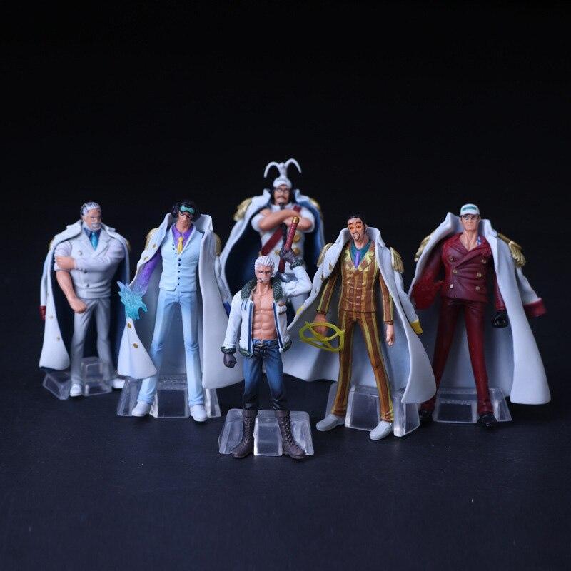 6 PCS/SET OnePiece Action Figures, Figure Collectible Toys, Action Figure Collectible Brinquedos Kids Model Toys Gift