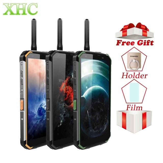 Blackview BV9500 Pro 6 GB 128 GB telefon komórkowy 5.7 cal z systemem Android 8.1 bezprzewodowe ładowanie smartfon dual sim Octa Core 16MP 13MP LTE 4G