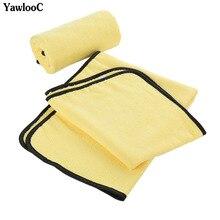 Asciugamano in microfibra Super assorbente per lavaggio auto asciugamano per pulizia auto asciugamano per asciugatura Extra Large 92*56 cm