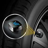 Car Vehicle Wheel Sensor Tire Pressure Monitoring Monitor Detector TP 76B
