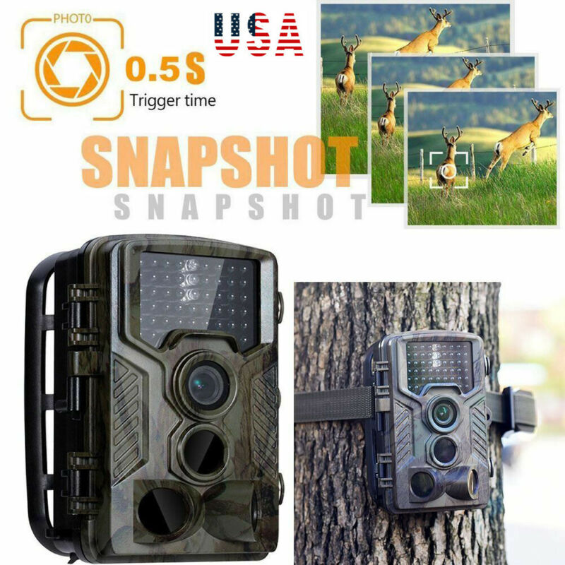 <font><b>Trail</b></font> <font><b>Camera</b></font> <font><b>HC800A</b></font> IP65 Waterproof forest <font><b>Hunting</b></font> <font><b>Camera</b></font> Night Vision Infrared LED Wildlife <font><b>Camera</b></font> Photo Traps scouts image