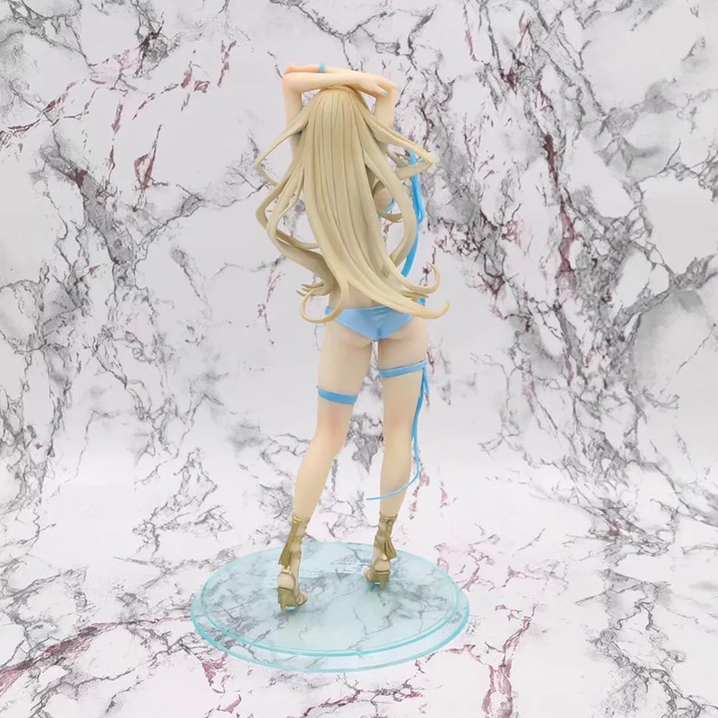 26cm Anime Sekirei Tsukiumi Sexy PVC Action Figure 1/7 scale Girl Swimsuit Ver. Model Gifts no retail box (Chinese Version) 3
