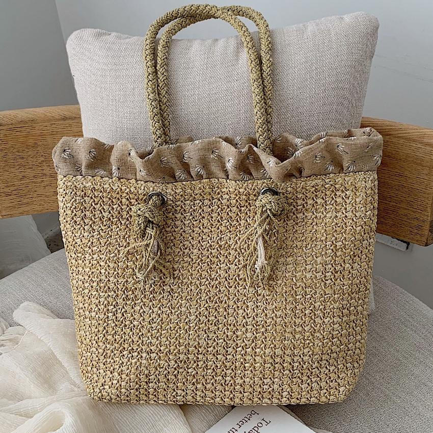 c0be1e3cc80e Ladybabag 2019 модные квадратные соломенные сумки Летний стиль ...