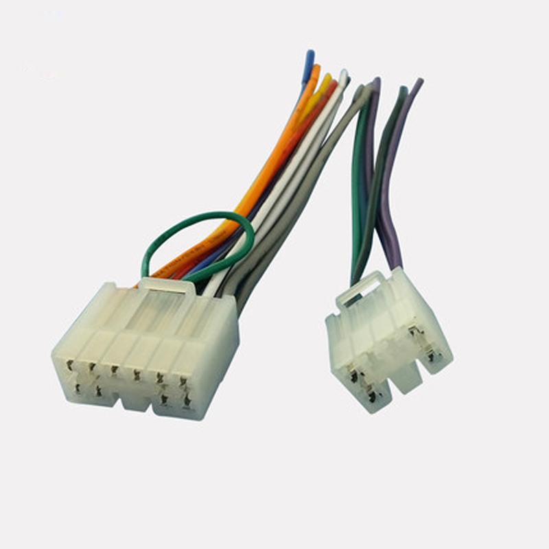 Marvelous Car Stereo Cd Changer Wiring Harness Adapter Female Plug For Toyota Wiring 101 Cranwise Assnl