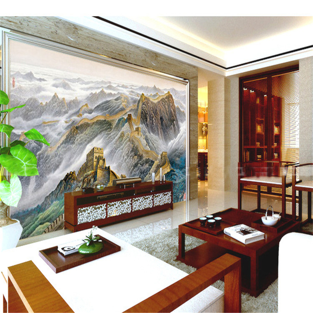 aliexpress : buy beibehang modern chinese landscape painting