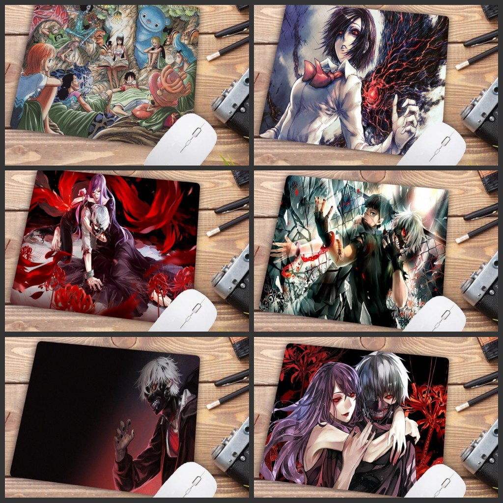 Tokyo Ghoul Anime Mouse Pad Size for 22X18CM