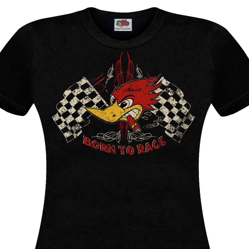 2019 Fashion Summer Style <font><b>T</b></font>-<font><b>Shirt</b></font> men BORN TO RACE Hot Rod Muscle Car Cafe Racer Chopper Custom <font><b>V8</b></font> Retro Tee <font><b>shirt</b></font> image