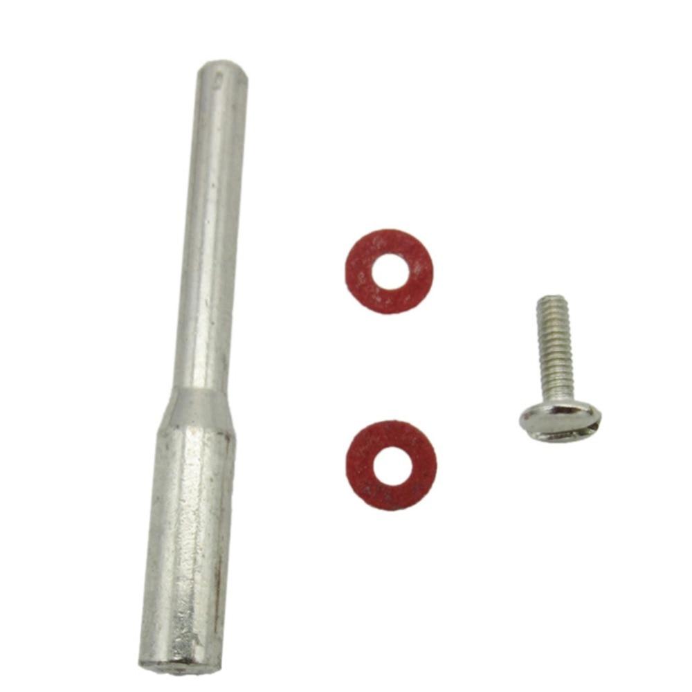 10X Dremel Accessoires Polijsten Doorn 3.175mm Schacht Diamantdoorslijpschijf Arbor Doorn Voor Rotary Tool Cut Off Wiel Houter