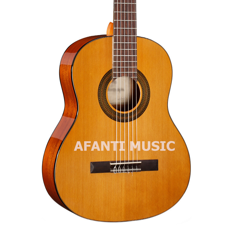 36 inch Burlywood color classical guitar of Afanti Music (ASG-1062) цена