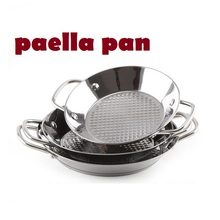 Stainless steel pan Spanish seafood rice cooker paella pan kochtopf