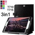 Высокое качество мода обложка Для Samsung Tab S2 8.0 дело PU кожаный чехол Для Samsung Galaxy Tab S2 T715 T710 капа funda + ручка + пленка