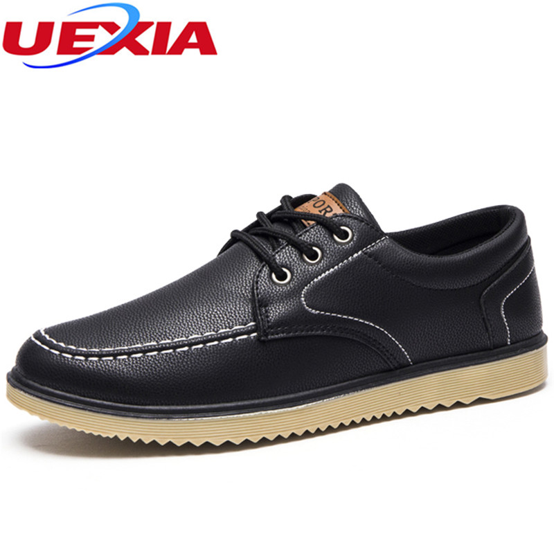 UEXIA Fashion Casual Shoes Men Slip On Breathable Flats Driving Moccasins High Quality Leather Comfortable Breathable Zapatos 00 fashion nature leather men casual shoes light breathable flats shoes slip on walking driving loafers zapatos hombre