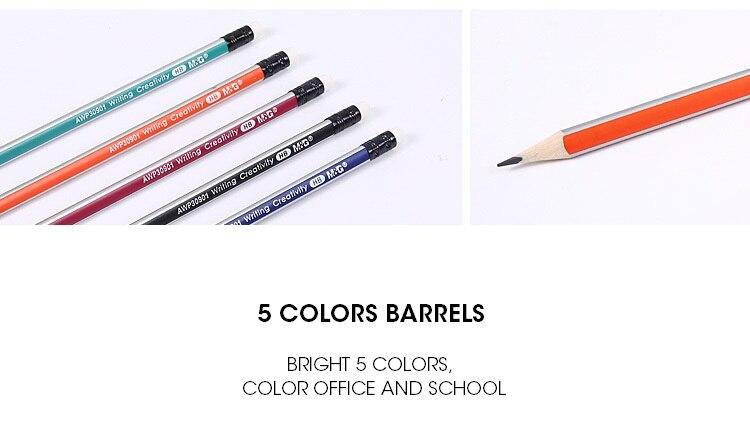 M & g pre-afiado triangular hb lápis