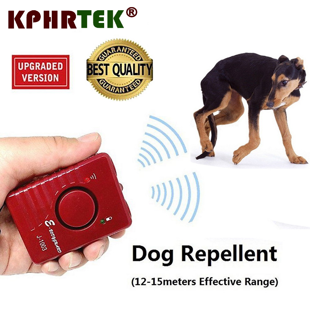 Original Ultrasonic Dog Repeller Repellent Sonic Deterrent Pet Whistle Pc Related Power Supplies And Control Chaser Super Powerful Rechargeable