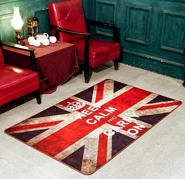 Style Britannique Angleterre Drapeau Tapis Drapeau Britannique Tapis