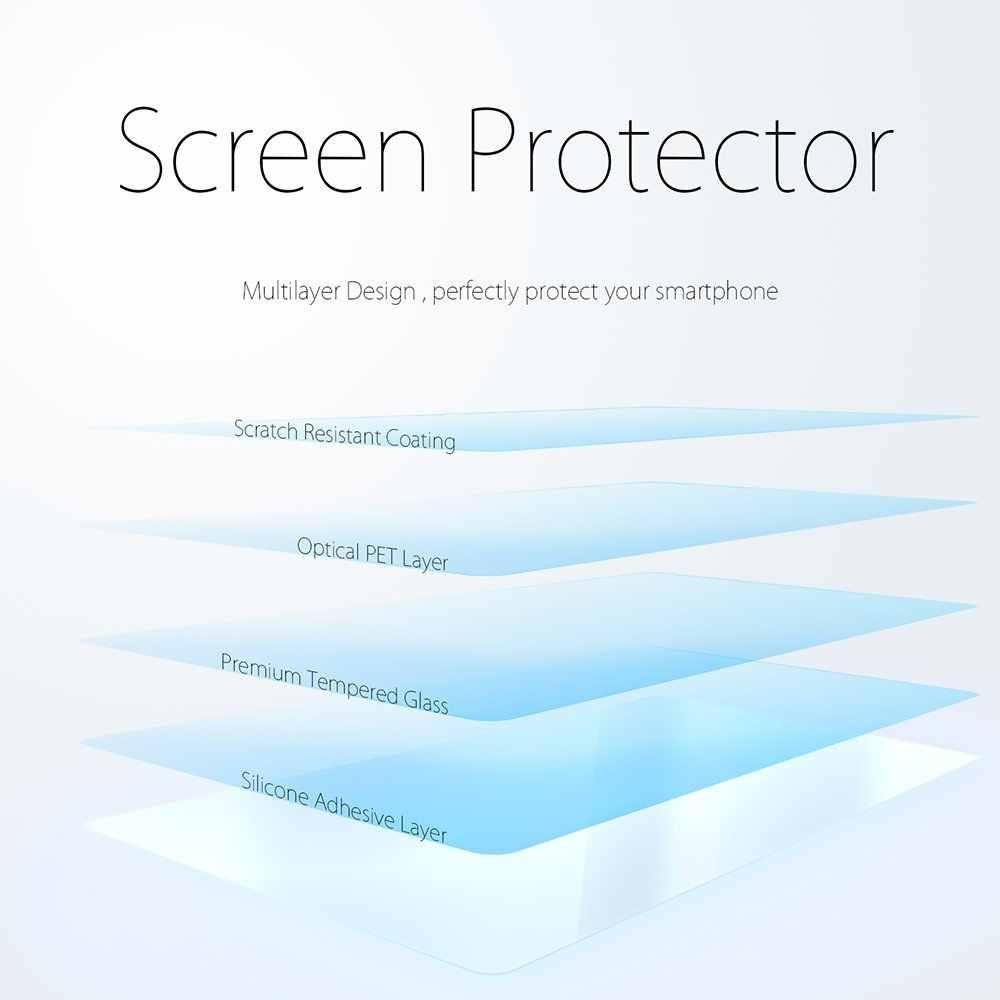 フルカバー強化ガラス Xiaomi REDMI 注 5 グローバル note5 5.99 インチ 3 ギガバイト 4 ギガバイト 32 ギガバイト 64 ギガバイト画面保護カバーの上にスマートフォン