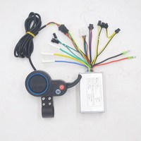 24V 36V 48V 250W 350W electric bike scooter controller with throttle LCD display speed for BLDC motor/scooter/e bike