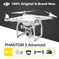 100% original dji phantom 3 avanzó 2.7 k/12 megapíxeles cámara gimble gps quadcopters fpv rc avión no tripulado helicóptero de $ number ejes