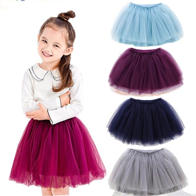 71db87da9 New 2018 Spring Children Baby Girls Clothes Tulle Tutu Skirt For ...