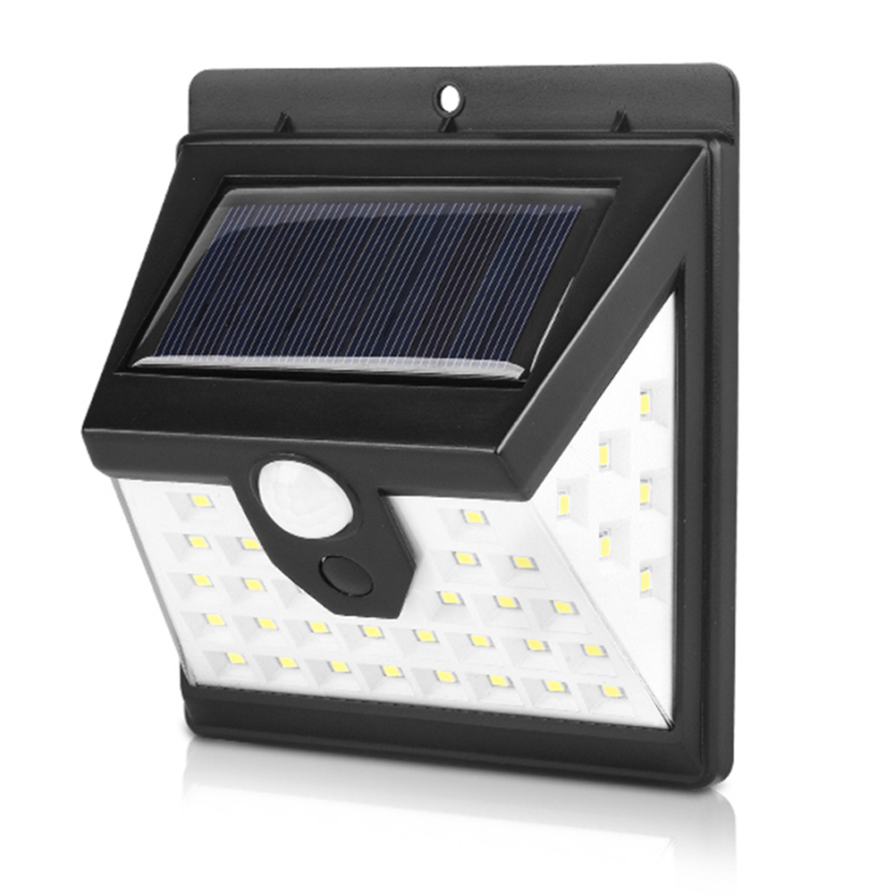 DIDIHOU Solar Powered Lights Outdoor Waterproof Motion Sensor Wall Light