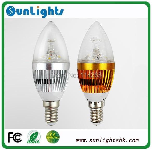 E14/E12/E27 Dimmable 2w 3w 4w 5w 9w AC85-265V warm / cold white LED candle light, led lamp bulb