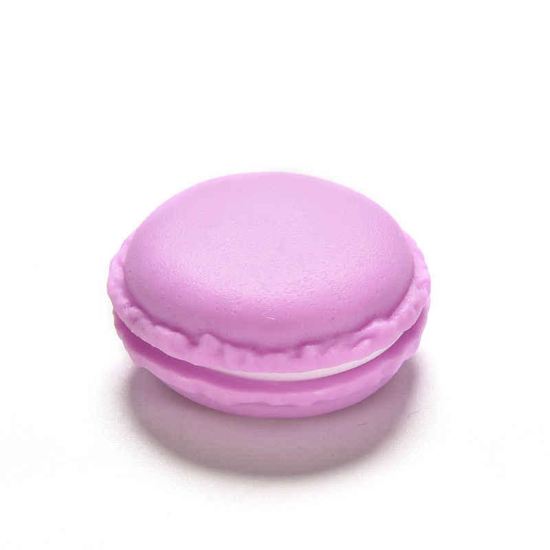 חדש הגעה אופנתי באיכות גבוהה Macaron אחסון קופסא תכשיטי טבעת קופסא אקראי צבע זרוק חינם