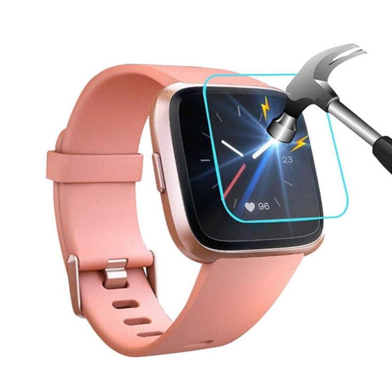 Protective-Film-Guard Versa/versa-Lite Tempered-Glass Smart-Watch Full-Screen-Protector