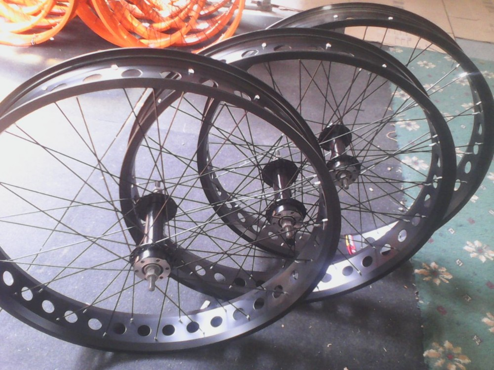 snow bike wheelset