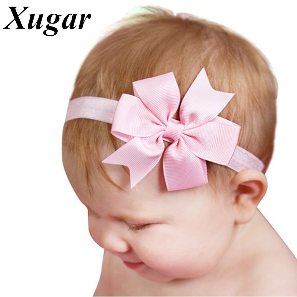 5 Pcs/Lot Newborn Kids Headband Boutique Pinwheel Handmade Es