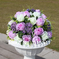 wedding party table centerpiece,Christmas home decoration silk artificial flower arrangement