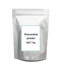 1 кг Бесплатная доставка Прямая поставка от производителя Resveratrol pow-der антиоксидантный экстракт гречиха CAS: 501-36-0