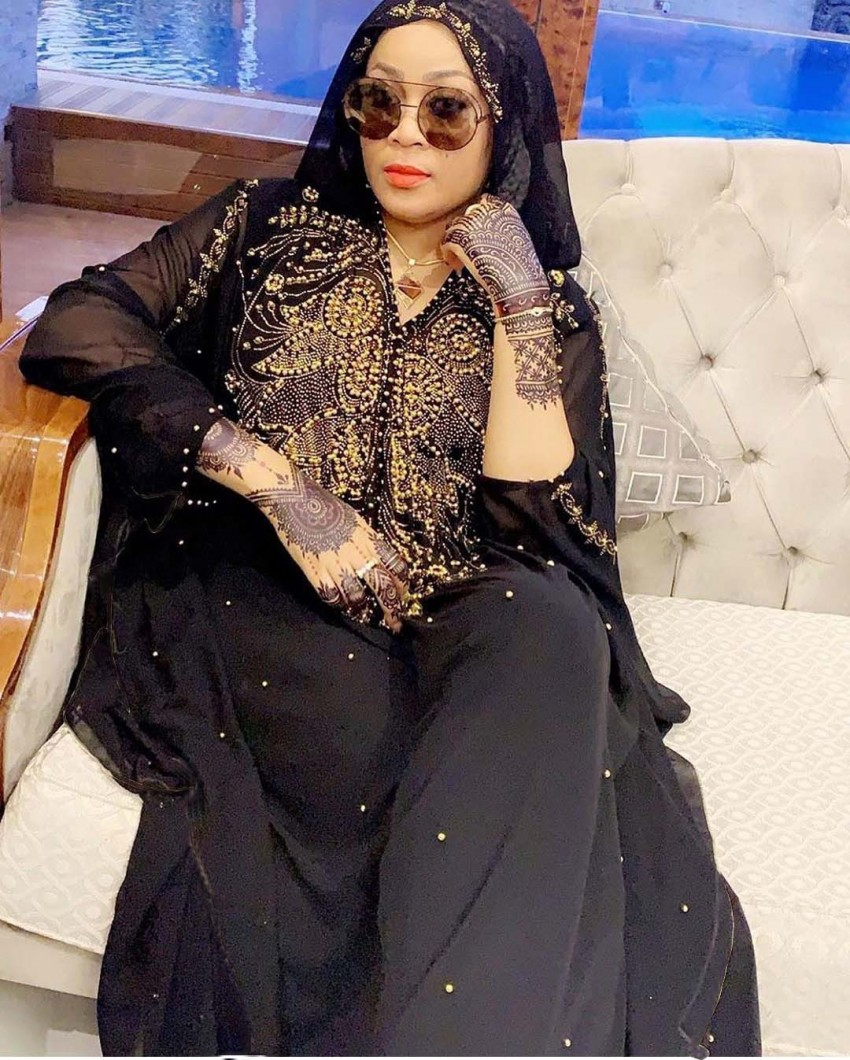 US $41.89 40% OFF|Plus Size African Dresses for Women Dashiki Diamond Beads  African Clothes Abaya Dubai Robe Evening Long Muslim Dress Hooded Cape-in  ...