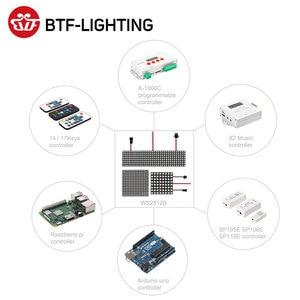 Image 5 - Panel de módulo Led Flexible WS2812B RGB Pixel, 8x 8/16x1 6/8x32, pantalla matricial WS2811 WS2812 IC direccionable individualmente DC5V