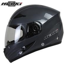 Nenki мужские мотоциклетные шлемы черепа печати анфас шлем прозрачные линзы щит шлем