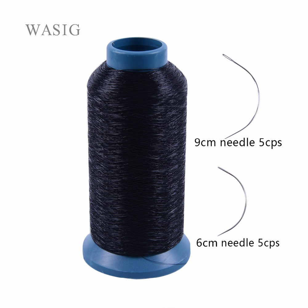1pc Black Color Polyster Cotton Weft Track Nylon Weaving Thread
