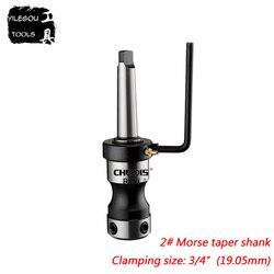 MT2 #, 3 #, 4 #, 5 #, 6 # Morse Kegel Schaft Spann Mit Schrauben 3/4 oder 1-1/4 Ringschneider Spann Leuchte Für magnetische Bohrmaschine