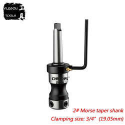 MT2#, 3#, 4#, 5#, 6# Morse Taper Shank Clamping With Screws 3/4 or 1-1/4 Annular Cutter Clamping Fixture For Magnetic Drill