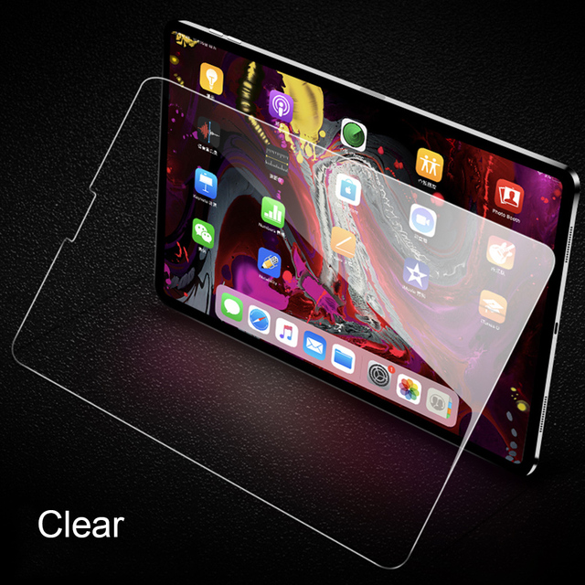 WOWCASE Tempered Glass For iPad Pro 2018 11 inch Screen ...