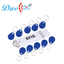 DWE CC RF Control card readers 5V EM id TK4100 portable rfid 125khz reader android usb with 10 tags free