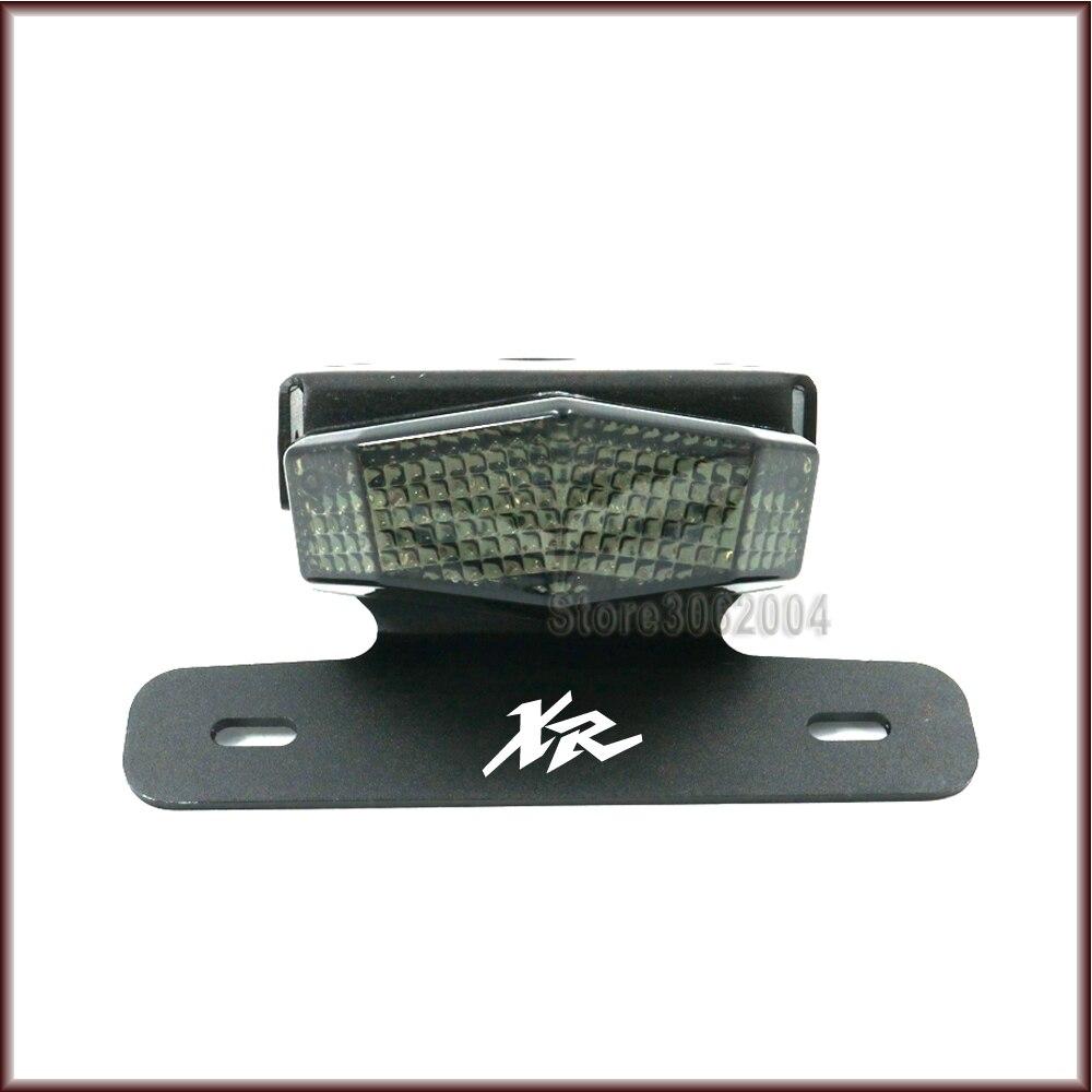 Pour HONDA XR 250R/400R XR250R 1996-2004 moto queue lumière garde-boue éliminateur immatriculation plaque d'immatriculation support LED