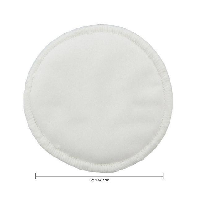 Matelas à lait de sein en Fiber de bambou   12 pièces/ensemble, coussin lavable pour lait de sein, coussin de lait de maternité Anti-débordement