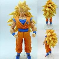 33cm Anime Action Figures Goku Super Saiyan Son Goku Action Figure PVC Black Big Goku Figures Super Saiyan Toys Model Dolls Gift