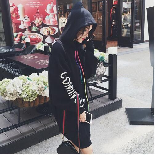 got7 Wang Jialu with the same girlhood Kim Tae Yeon MV plus velvet hooded autumn and winter hit song service
