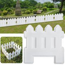 Забор пластиковая форма Бетон цемент сад бассейн пол плитка забор тротуарная форма путь плесень цветок бассейн кирпич Пластиковая форма газон двор