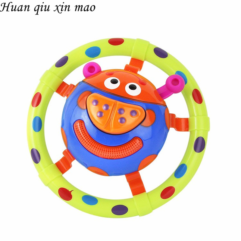 Huan Qiu Xin Mao Baby Toys With Sound And Light Ladybug Baby Toy Children Musical Toys / Grasping Toy As A Gift For Little Kids